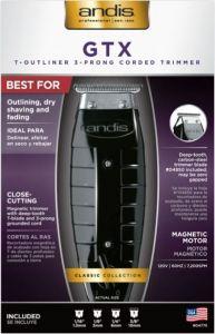 Andis Trimmer T-outliner Black