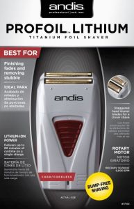 Andis Shaver Profoil Lithium Gray