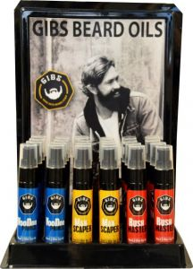 Gibs 12 Pc Oil Display