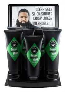 Gibs 7 Pc Shave Gel Display