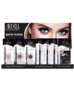 ARDELL BROW POWER 28 PCS DISPL