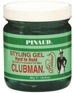 Clubman Styling Gel, Hard to Hold/Green