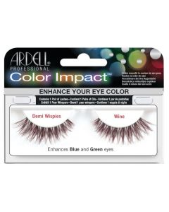 Ardell Color Lash Demi Wispies, Wine
