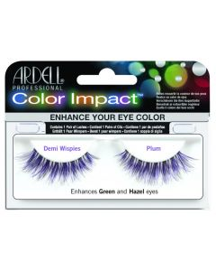 Ardell Color Lash Demi Wispies, Plum