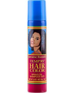 Jerome Russell Tempr'y Hair Color Black