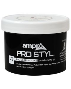 Ampro Gel [Protein Black] Regular