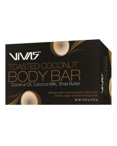 VIVAS COCONUT BODY BAR