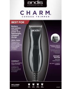 ANDIS TRIMMER CHARM BLACK TC1