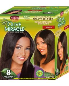 African Pride Olive Miracle No Lye 8 Touch Up [Super]