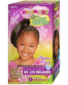 African Pride Dream Kids Olive Miracle No Lye 1 Touch Up [Super]