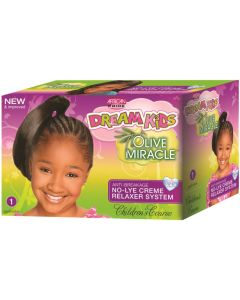 African Pride Dream Kids Olive Miracle No Lye 1 Application [Super]