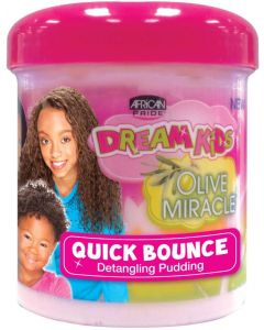 African Pride Dream Kids Olive Miracle Quick Bounce Pudding