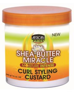 African Pride Shea Butter Miracle Curl Custard