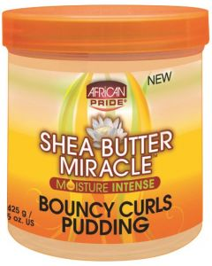 African Pride Shea Butter Miracle Bouncy Curls Pudding