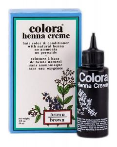COLORA HENNA CREME [BROWN]