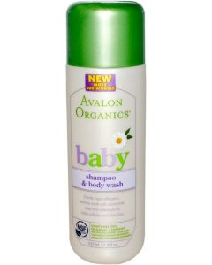 AVALON BABY SHAMP & BODY WASH