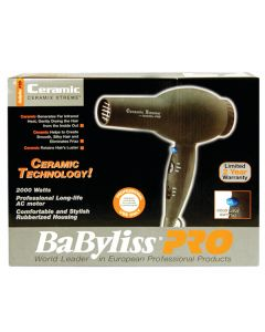 Babyliss Ceramix Xtreme Dryer - Black