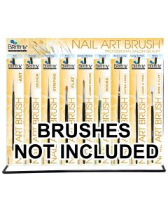 BR NAIL ART BRUSH DISPLAY ONLY