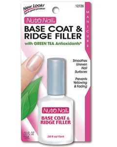 NUTRA NAIL BASE COAT&RIDGE FIL