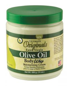 Ultimate Organics Olive Body Whip Cream