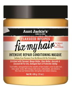 Aunt Jackie's Flax Fix My Hair Masque