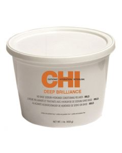 CHI Deep Brilliance No Base Sodium Hydroxide Conditioning Relaxer, Mild
