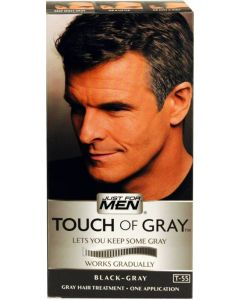 JFMEN TOUCH OF GRAY [DARK BRN]