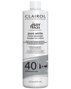 Clairol Pure White 40 Volume, 16 oz