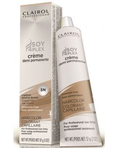 Clairol Soy Demi Permanente 5N, Lightest Neutral Brown
