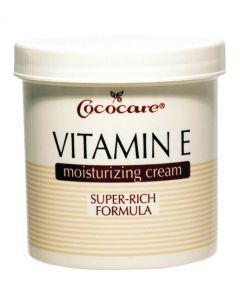 Cococare Vitamin E Moisturizing Cream Super-Rich Formula, 4 oz