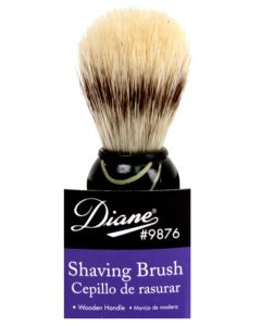 DIANE SHAVING BRUSH WOOD HANDL