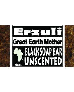 ERZULI BLACK SOAP [UNSCENTED]