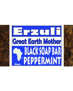 ERZULI BLACK SOAP [PEPPERMINT]