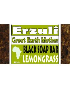 ERZULI BLACK SOAP [LEMONGRASS]