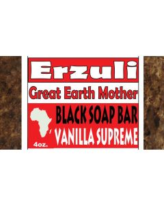 ERZULI BLACK SOAP [VANILLA]