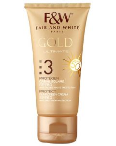 F&W GOLD #3 SUNSCREEN SPF50