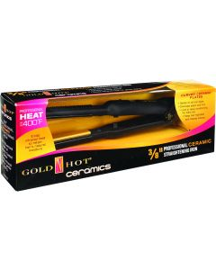 Gold N Hot Ceramic Flat Iron 3/8""