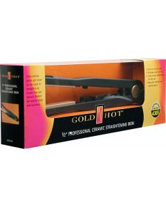 Gold N Hot Ceramic  Rheostat Temperature Control Flat Iron