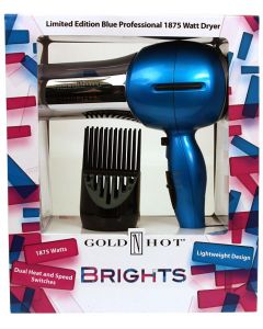 Gold N Hot Dryer Brights Blue