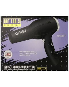 Hot Tools Ionic Anti-Static Professional Dryer - Black