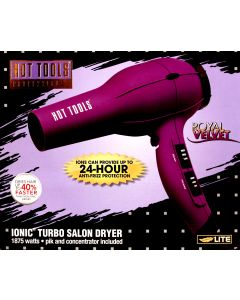 Hot Tools Ionic Anti-Static Professional Dryer - Purple