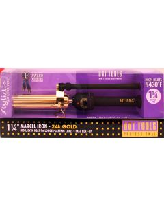 Hot Tools Gold Marcel Curling Iron 1-1/4""