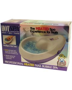 HOT SPA HEATED NAIL BUBBLE SPA