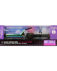 Hot Tools Curling Iron Rainbow Gold