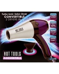 HOT TOOL DRYER CONVERTIBLE 1875W