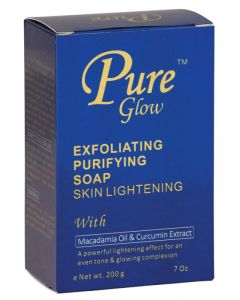 PURE GLOW EXFOLIATING SOAP
