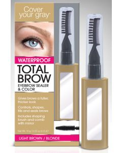 COVER GRAY WF EYEBROW BLONDE