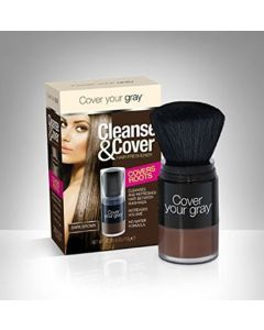 COVER GRAY CLEANSE [DARK BRWN