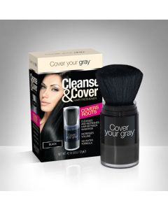 COVER GRAY CLEANSE [BLACK]