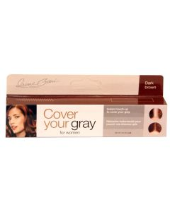 COVER GRAY MINI MASCARA D/BRWN